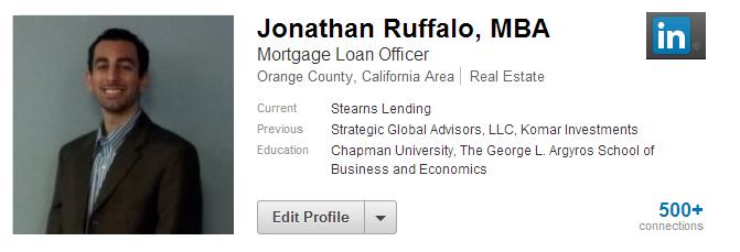 Jonathan Profile Page